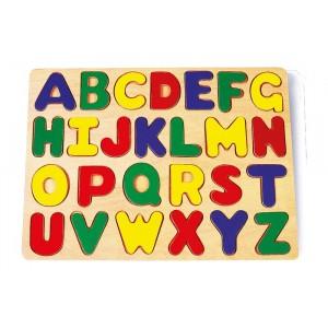 Puzzle drewniane - alfabet (Z0010)