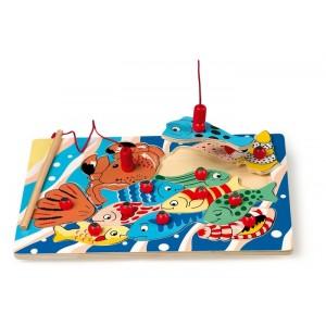 Gra magnetyczna , puzzle - wędkowanie na magnesy(Z0013)