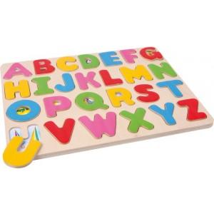 Puzzle drewniane - alfabet (Z0218)