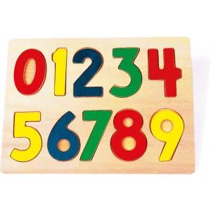 Puzzle drewniane - Liczby (Z0264)