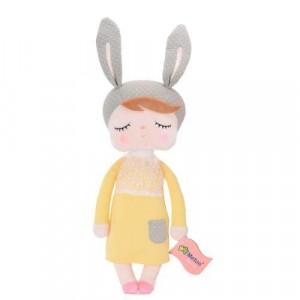 Metoo - Lalka Angela w żółtej sukience, Oryginalna, Atesty (Z1227)