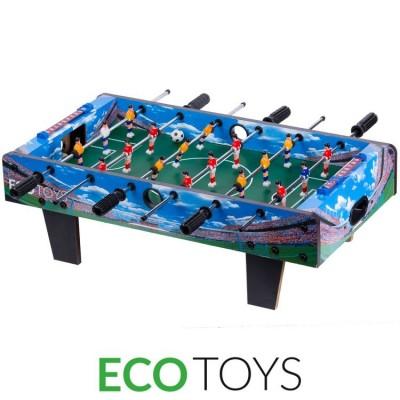 Drewniany stół do gry w piłkarzyki 70x36 cm (Z1225)